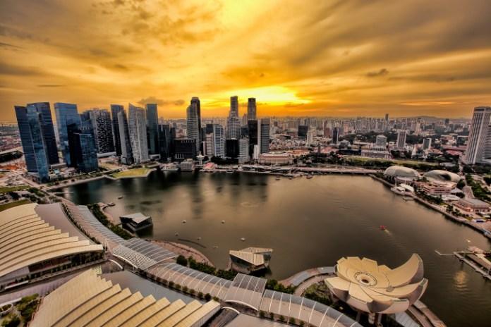 أفق سنغافورة