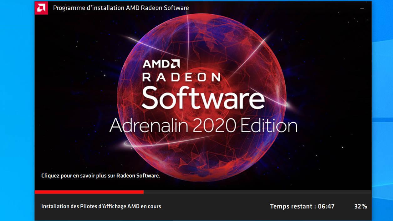 AMD راديون البرمجيات أدرينالين 2020 الطبعة