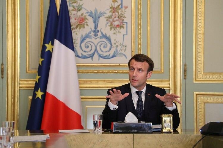 رئيس فرنسا ، إيمانويل ماكرون.  الصورة: لودوفيك مارين / بول عبر رويترز