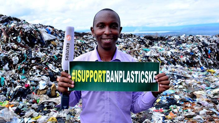 القمامة والبلاستيك والنفايات ومدافن القمامة والحقائب