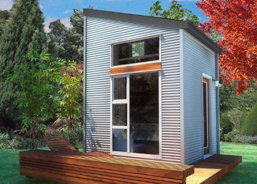 منازل صغيرة ، منزل صغير ، هندسة معمارية بسيطة ، منازل مستدامة