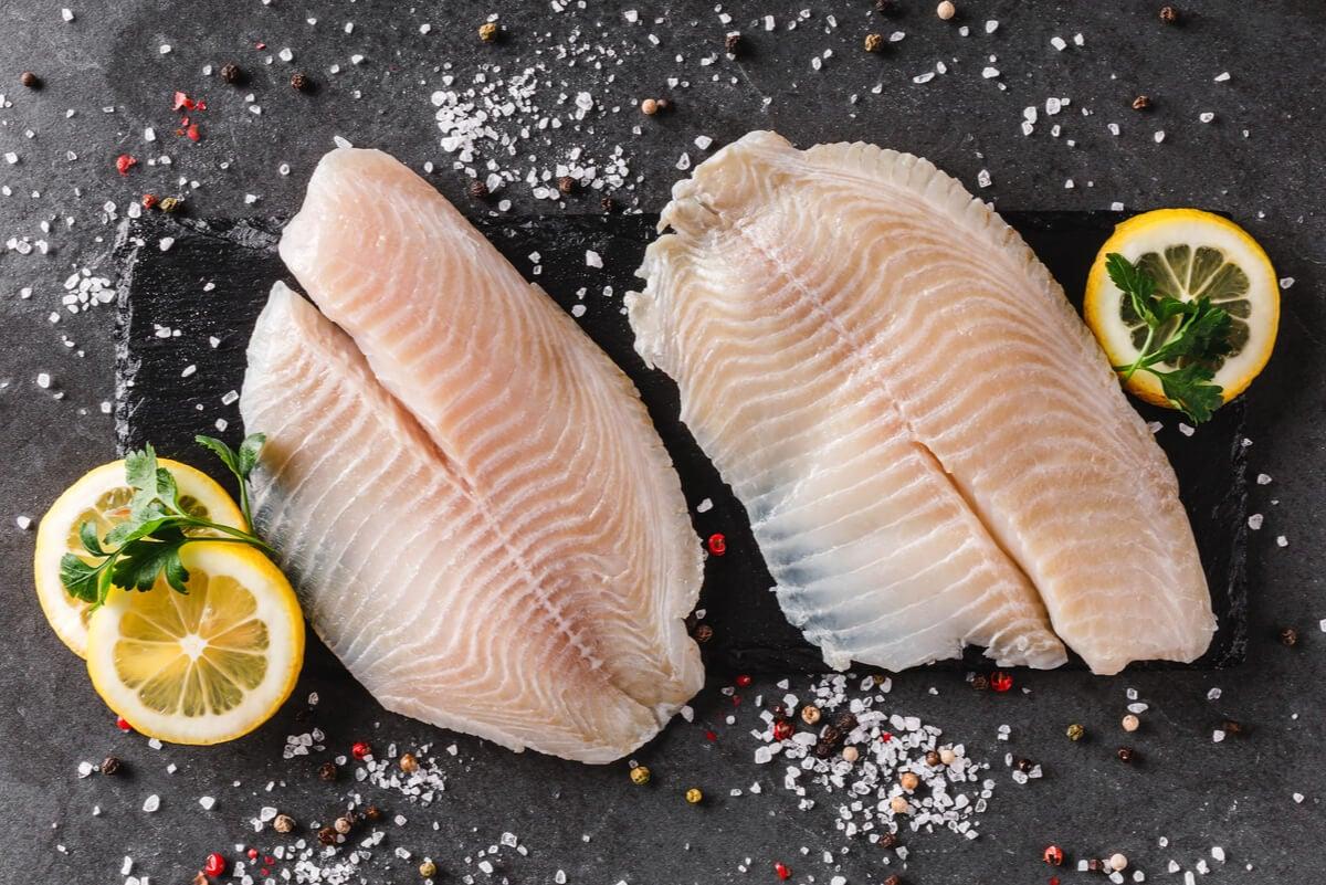 اللحوم البيضاء على النظام الغذائي شبه النباتي أو المرن.