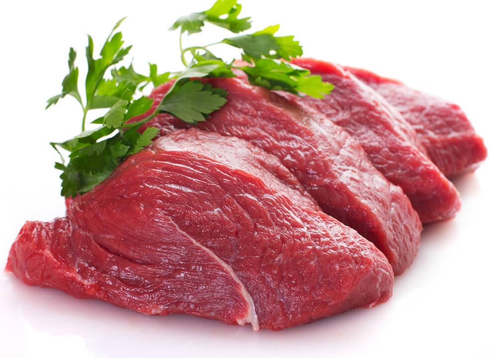 لحم أحمر
