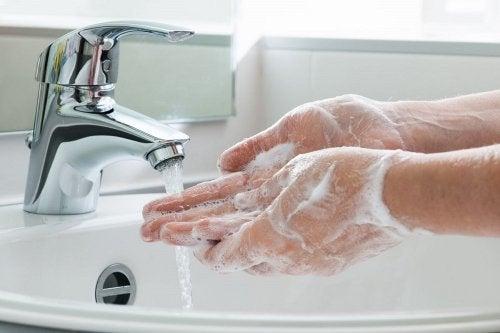 اغسل يديك قبل الطهي