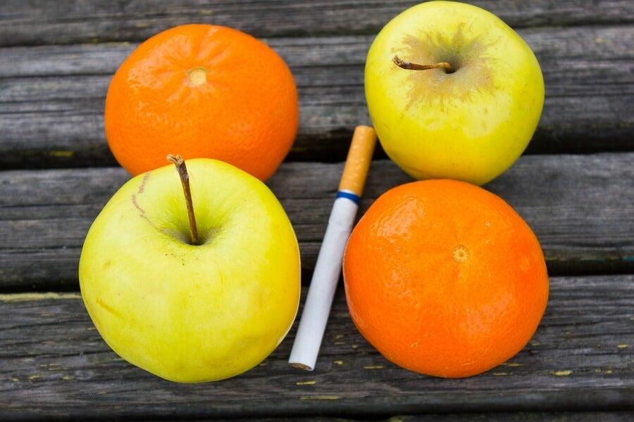 الفواكه والخضروات جزء أساسي من النظام الغذائي للإقلاع عن التدخين