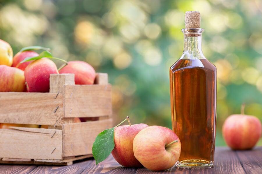 خل حمض التفاح