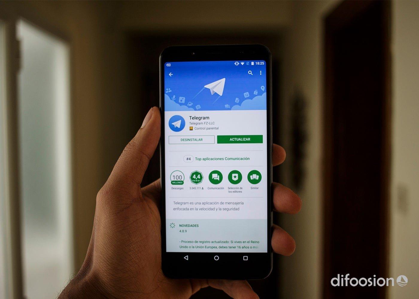 Telegram على Google Play