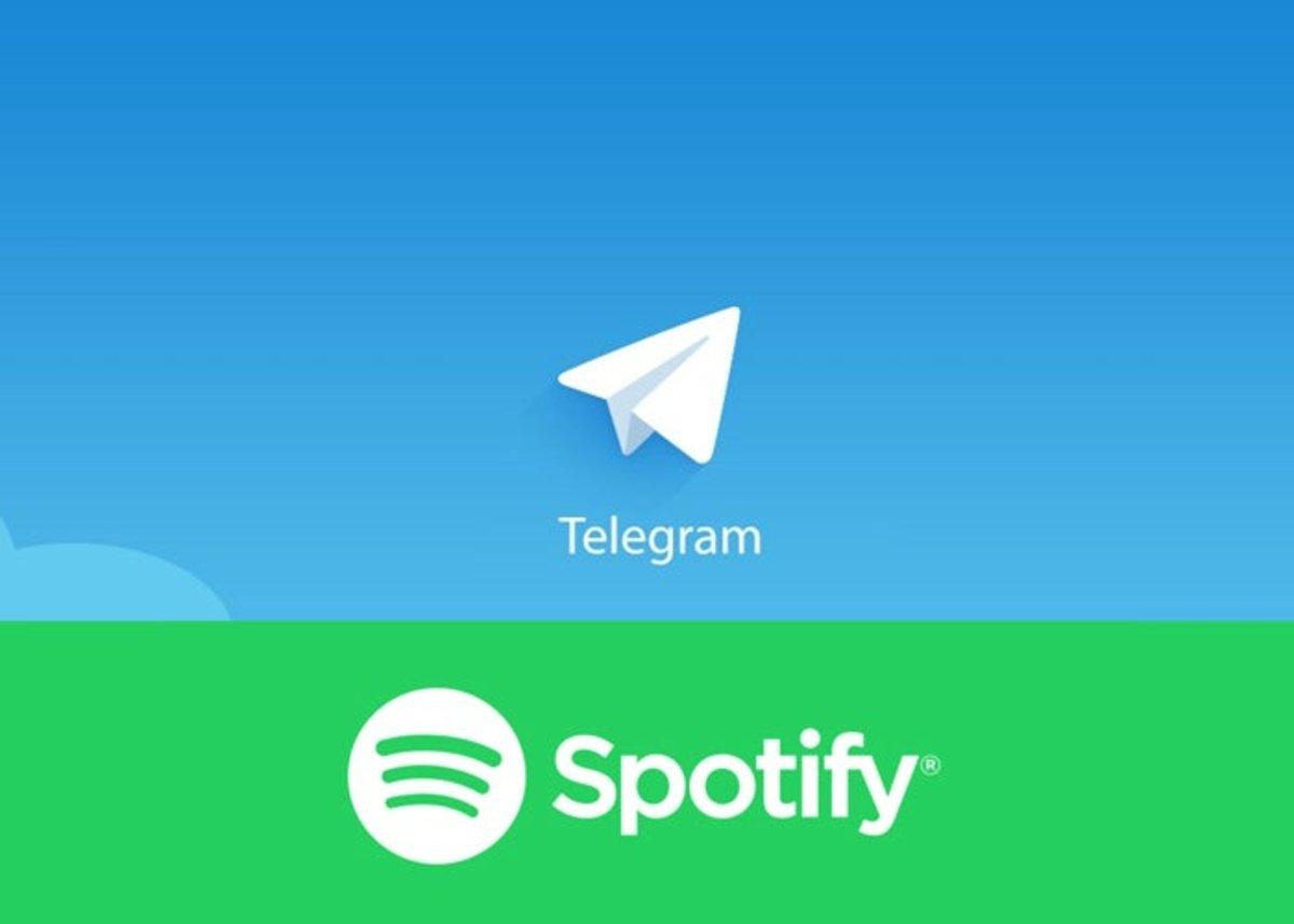 تحويل Telegram إلى Spotify