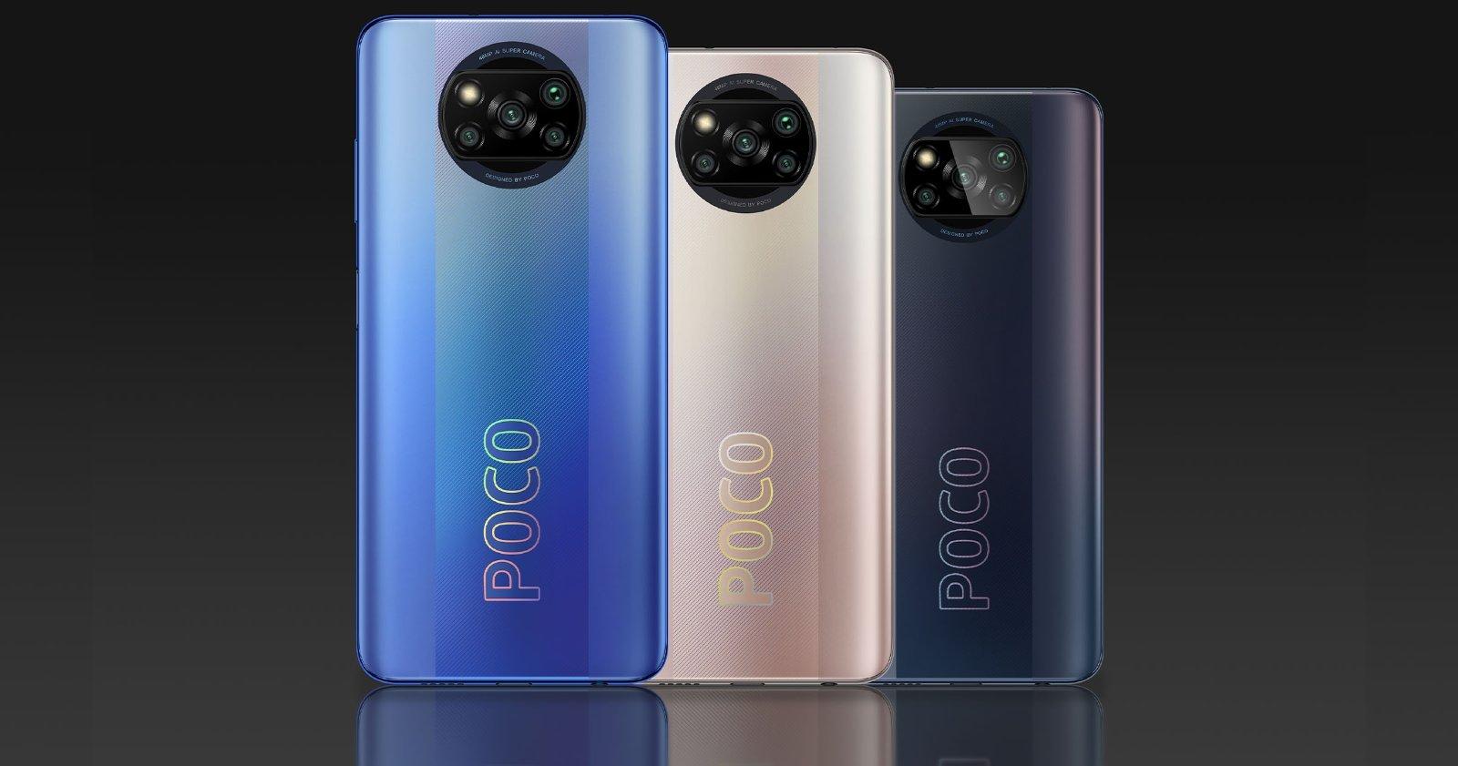 POCO X3 Pro بثلاثة ألوان