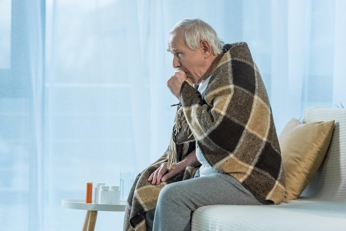 الانفلونزا عند كبار السن.