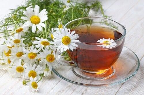4 أنواع شاي أعشاب لبشرة شابة