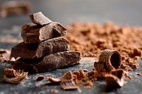 3. الشوكولاته الداكنة