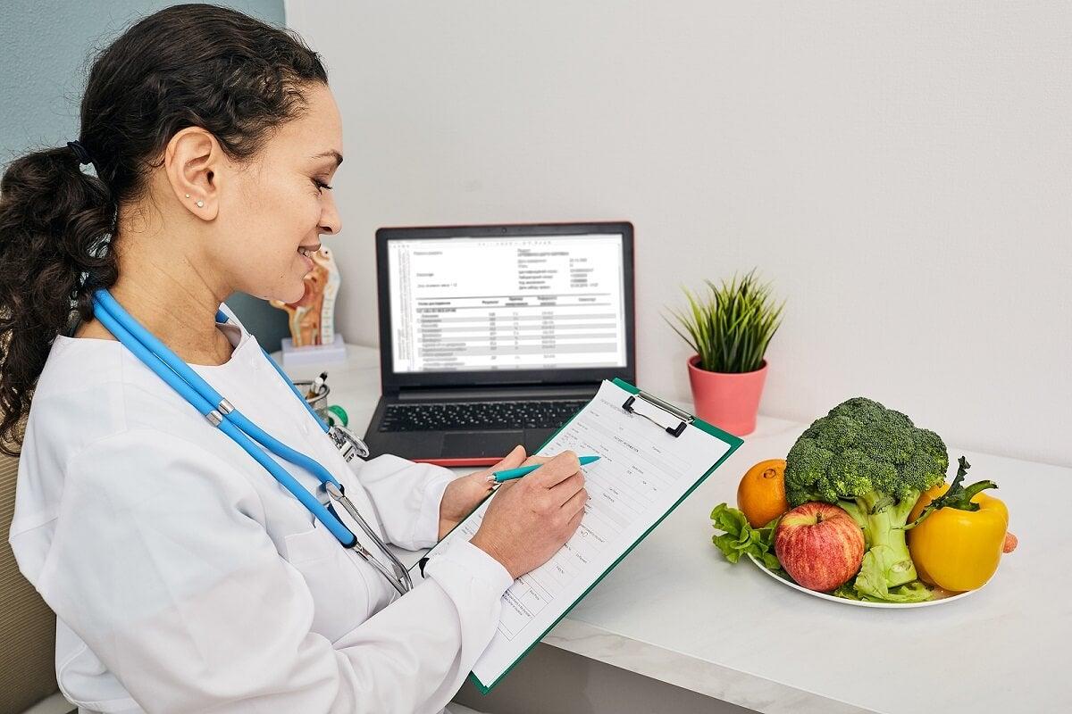 خطة النظام الغذائي للأمراض.
