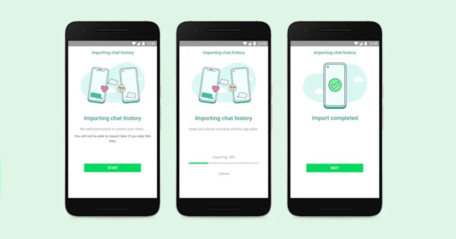 سيسمح لك WhatsApp بنقل الدردشات من iPhone إلى Android