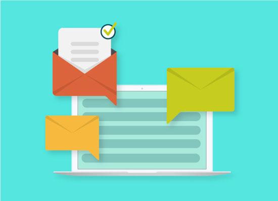 إنشاء وإرسال البريد الإلكتروني (1)