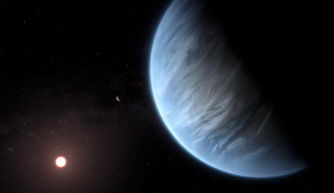 الماء ، الفضاء ، الكواكب ، الحياة