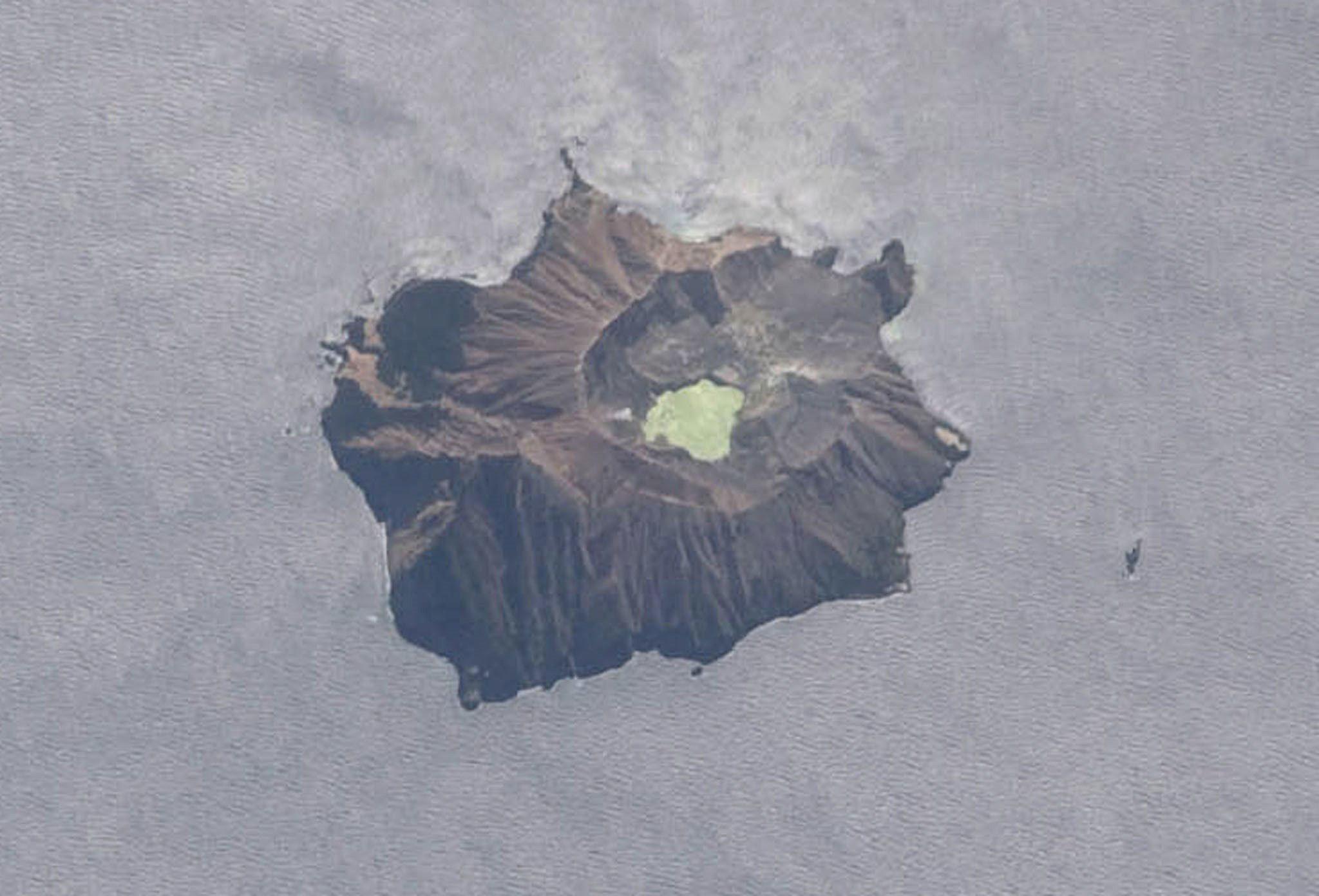 بركان واكاري في عرض جوي مقدم من ناسا