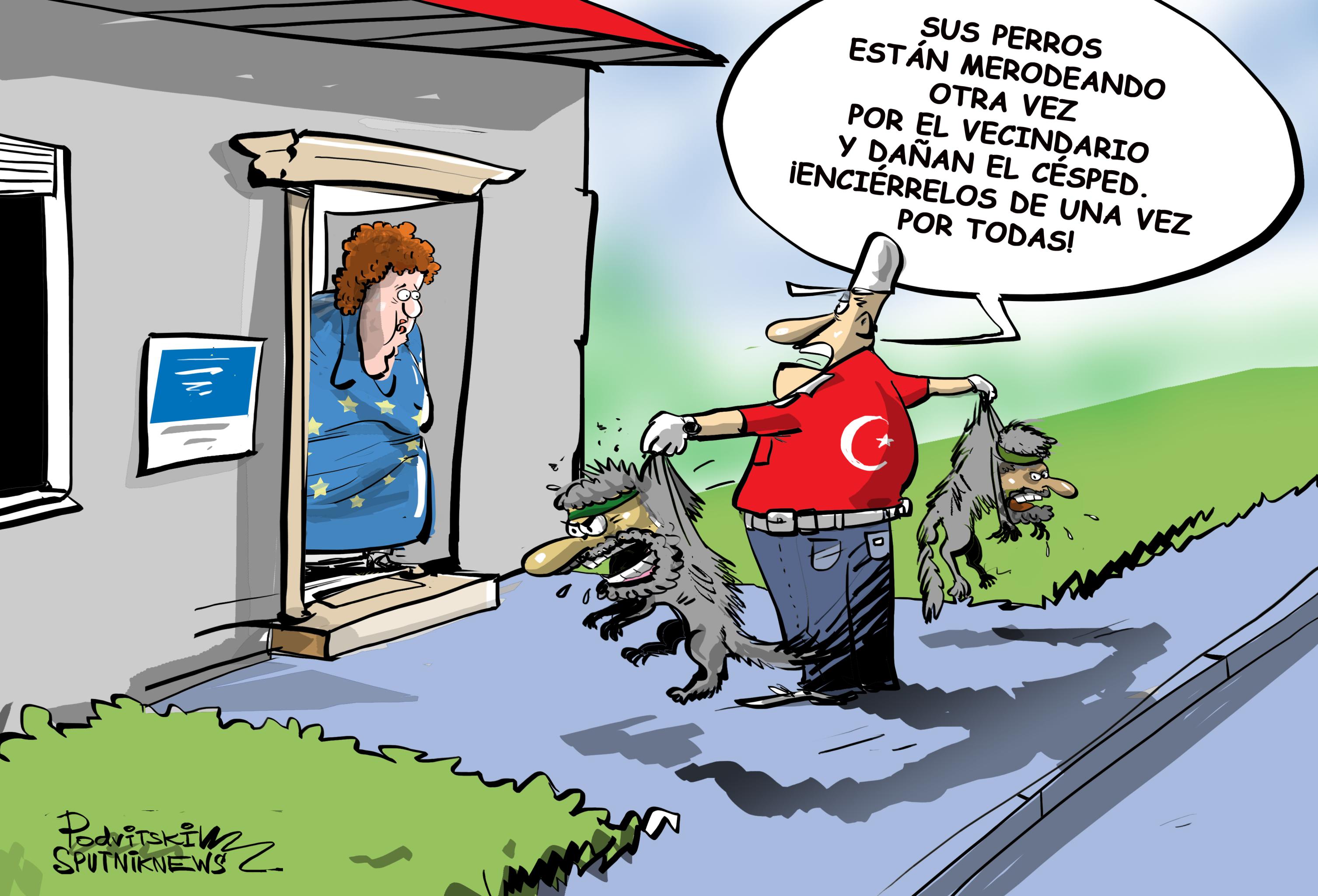 خذ الإرهابيين الخاص بك!  تركيا تريد إعادة جهاديي داعش إلى أوروبا
