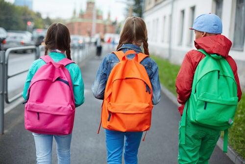 حقائب الظهر للأطفال