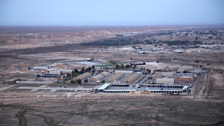 قاعدة الأسد العسكرية حيث توجد القوات الأمريكية